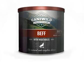 Caniwild Beef with Vegetables – puszka z zamykanym wieczkiem – 850 g