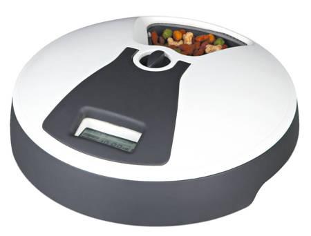 Automatyczna miska z programatorem na sześć posiłków