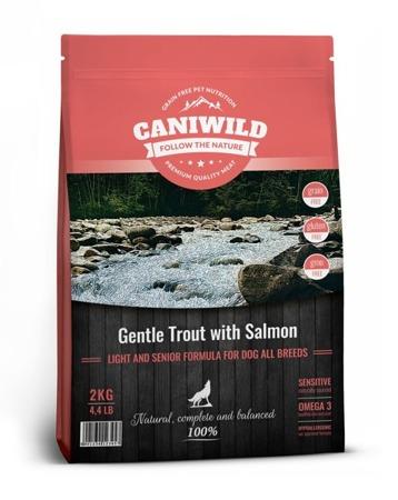 Caniwild Light and Senior Gentle Trout with Salmon 2kg Łosoś i Pstrąg