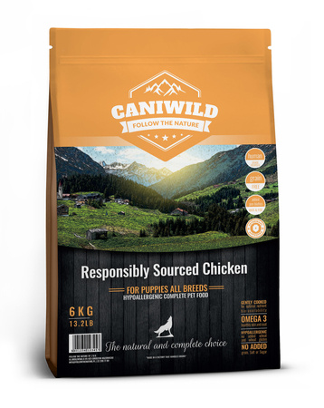 Caniwild Puppy Free run Chicken & Turkey 2kg Kurczak, Indyk i Łosoś