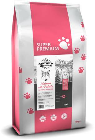 Caniwild Puppy Large Breed Salmon with Potato 12kg