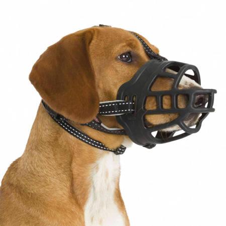 Kaganiec fizjologiczny dla psa L-XL kaganiec silikonowy, umożliwia picie wody i dyszenie