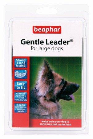Kantar, obroża uzdowa dla psów dużych ras Gentle Leader czarna