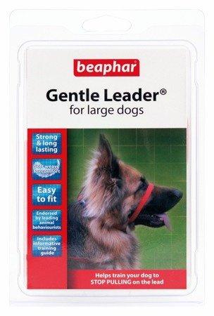 Kantar, obroża uzdowa dla psów dużych ras Holter Gentle Leader czerwona