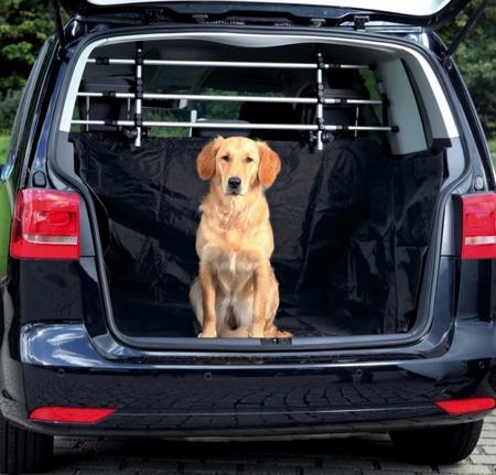 Mata samochodowa do bagażnika wyposażona w wysokie boki - czarna - 170x230 cm