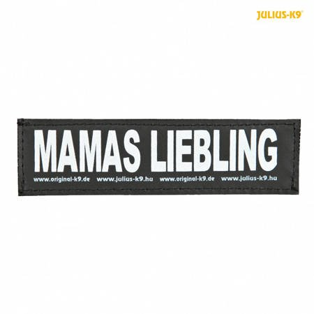 Naszywka MAMAS LIEBLING na rzep do szelek Julius-K9® 2 sztuki