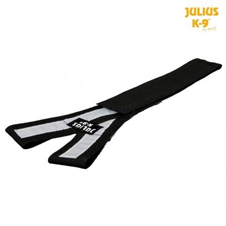 Pas do szelek Julius-K9® odblaskowy czarny