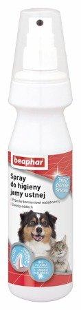 Spray przeciw odkładaniu się kamienia nazębnego dla psa i kota 150 ml