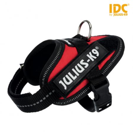 Szelki Julius-K9 IDC® dla psa czerwone