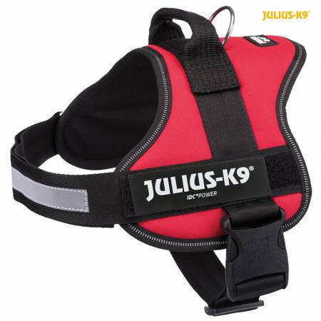 Szelki Julius-K9 dla psa czerwone