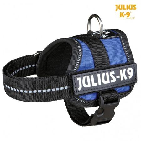 Szelki Julius-K9 dla psa niebieskie