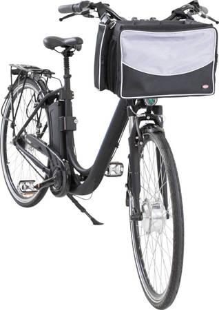 Torba na rower dla psa Torba z kieszeniami na kierownicę roweru